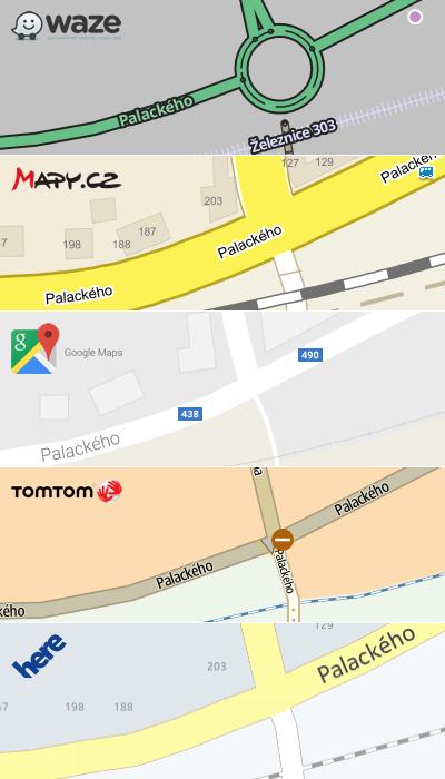 Navigační mapy